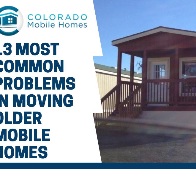 Moving Older Mobile Homes